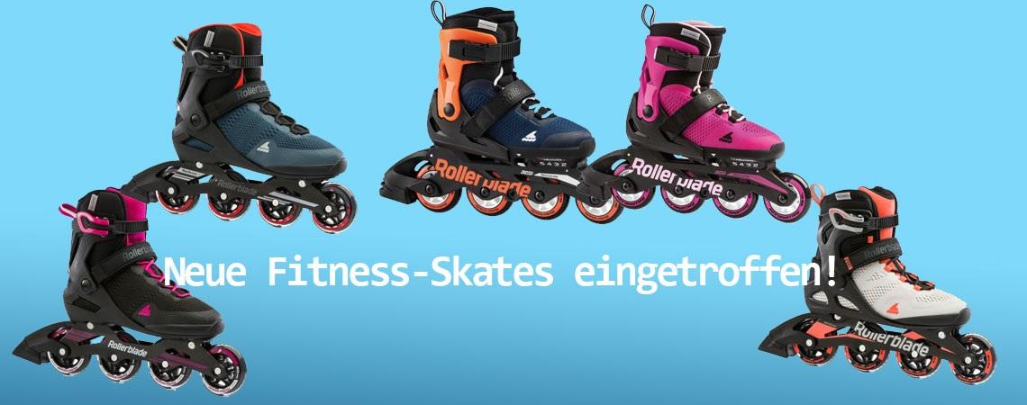 Neue Fitness-Skates