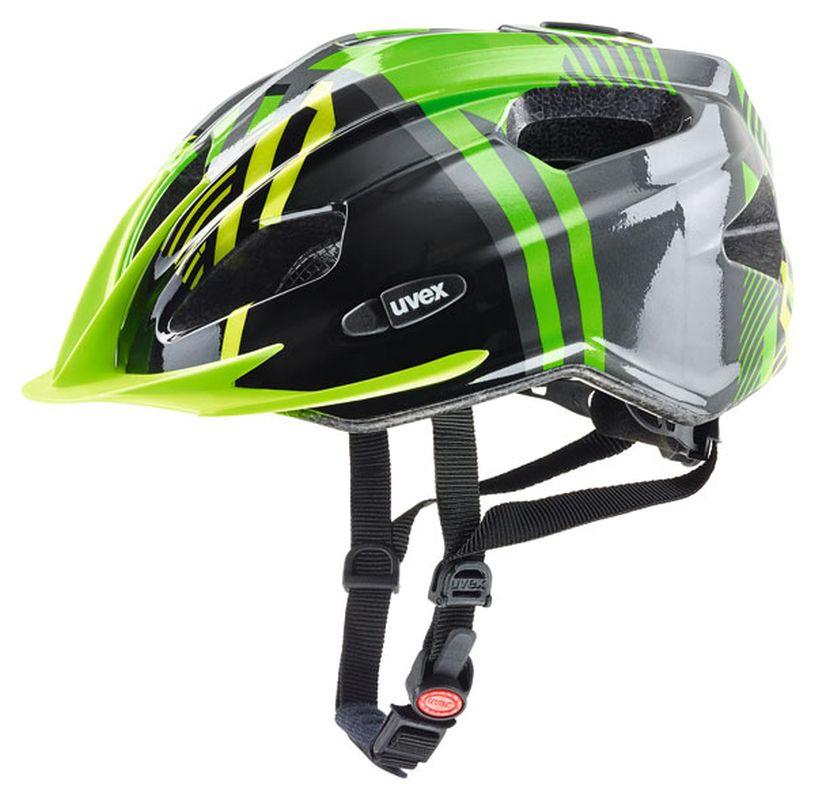 Uvex Quatro Jr. green-anthr