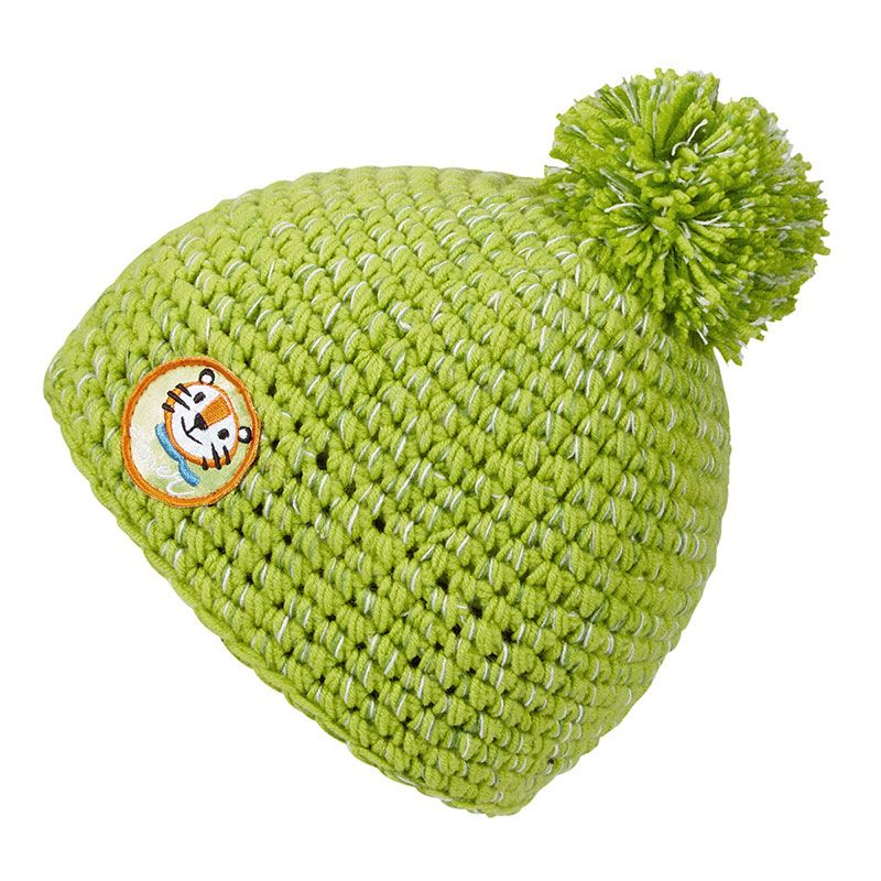 Ziener IL ZOO Minis lime green Kindermütze