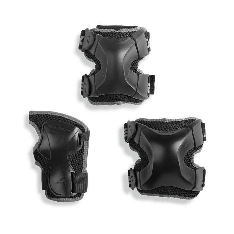 Rollerblade X-Gear 3 Pack schwarz
