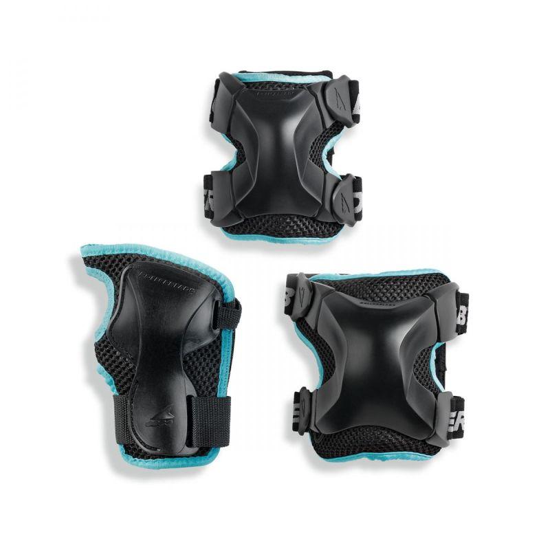 Rollerblade X-Gear W 3 Pack schwarz