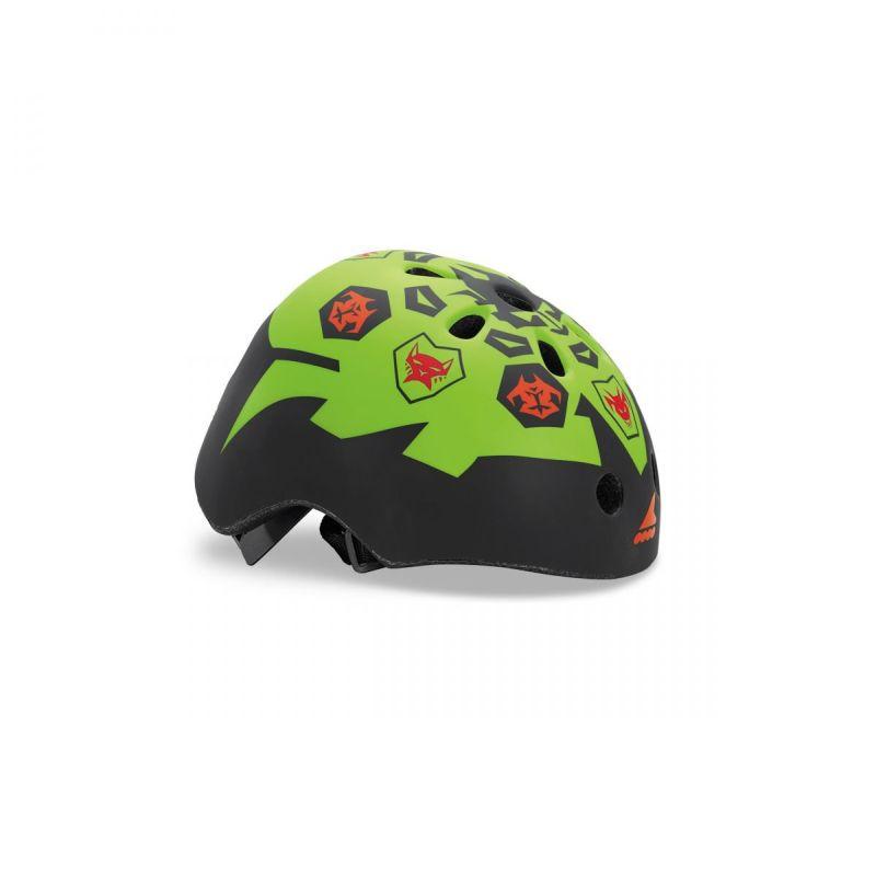 Rollerblade Twist Jr. Helmet black-lime