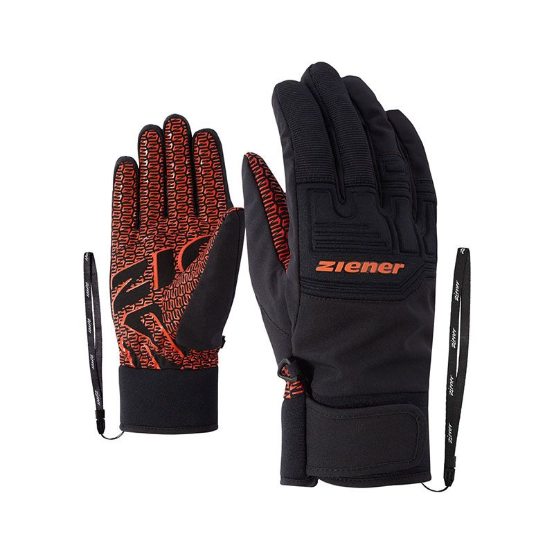 Ziener AS Glove orange spice