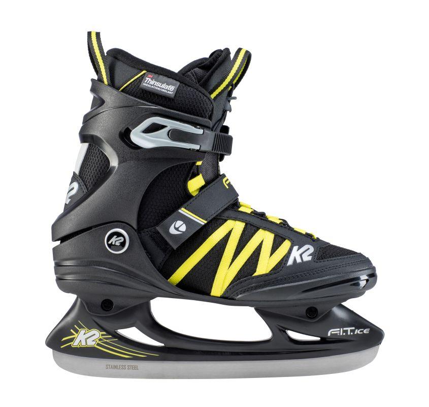 K2 FIT Ice Pro black yellow