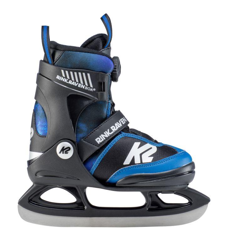 K2 Rink Raven Boa black blue