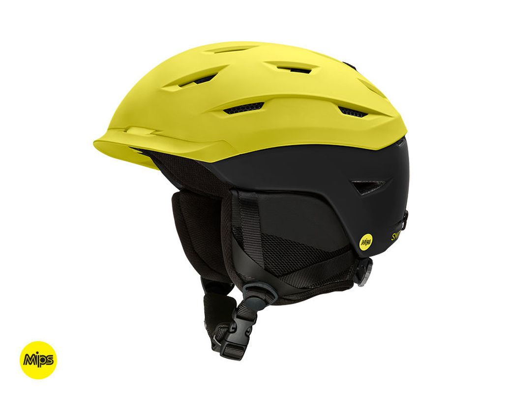 Smith Level Mips Matte Street Yellow - Black