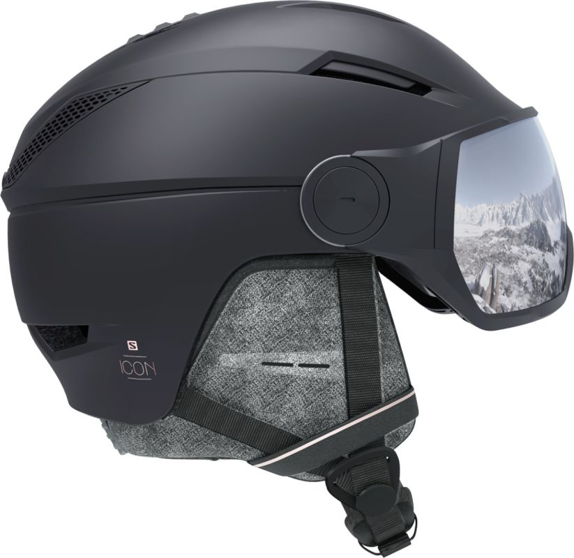 Salomon Icon² Visor black-silver