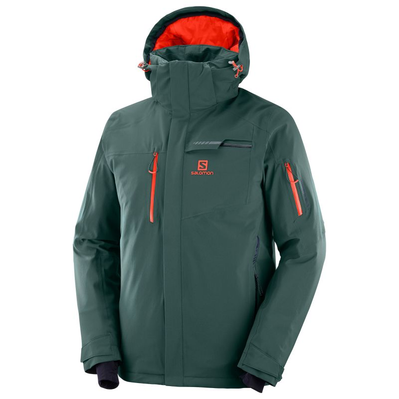 Salomon Brilliant Jkt M green gables