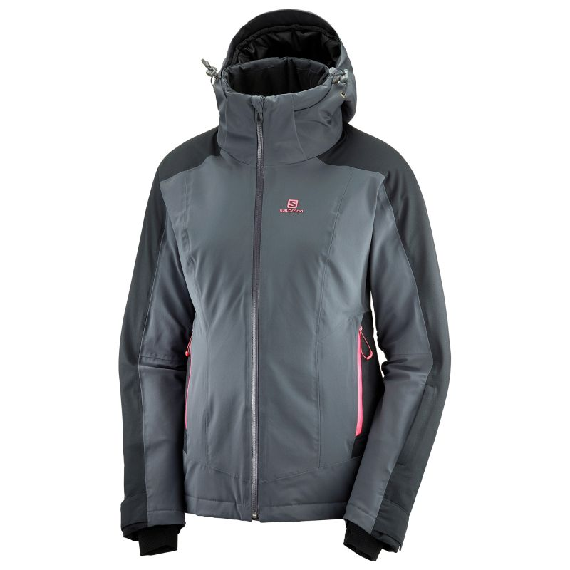 Salomon Brilliant Jkt W ebony-black