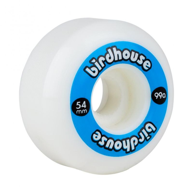 Birdhouse Wheels Logo 99a blue 54 mm