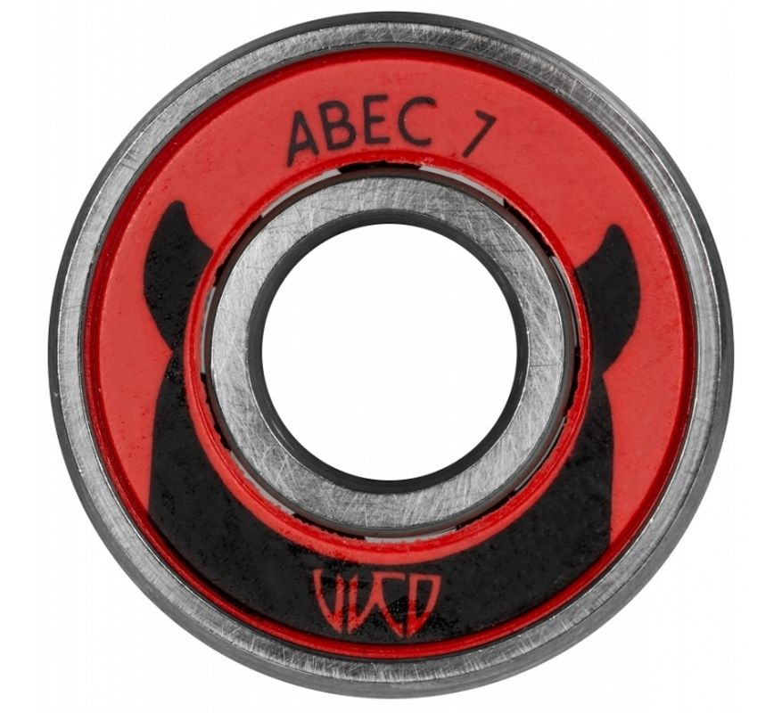 Wicked Bearings ABEC 7 Carbon 608
