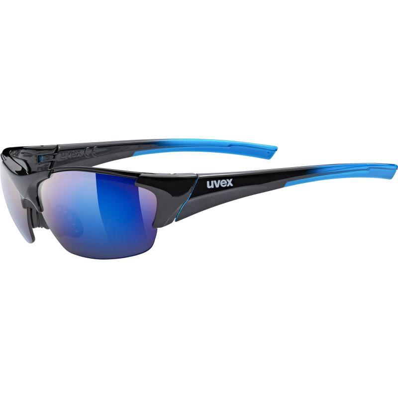 Uvex Blaze III black blue/mir.blue