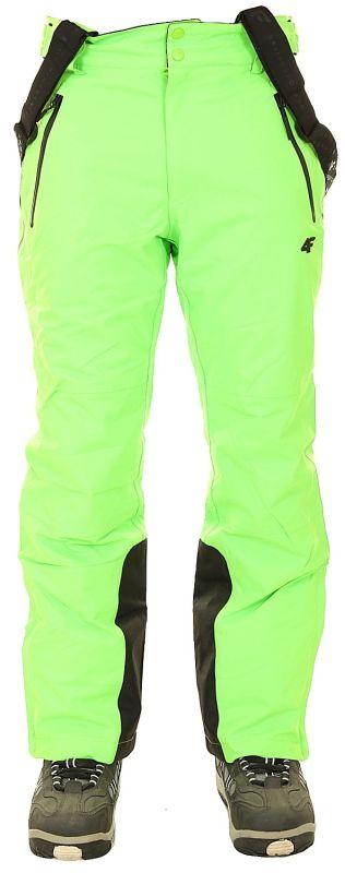 4F Skihose Herren green neon