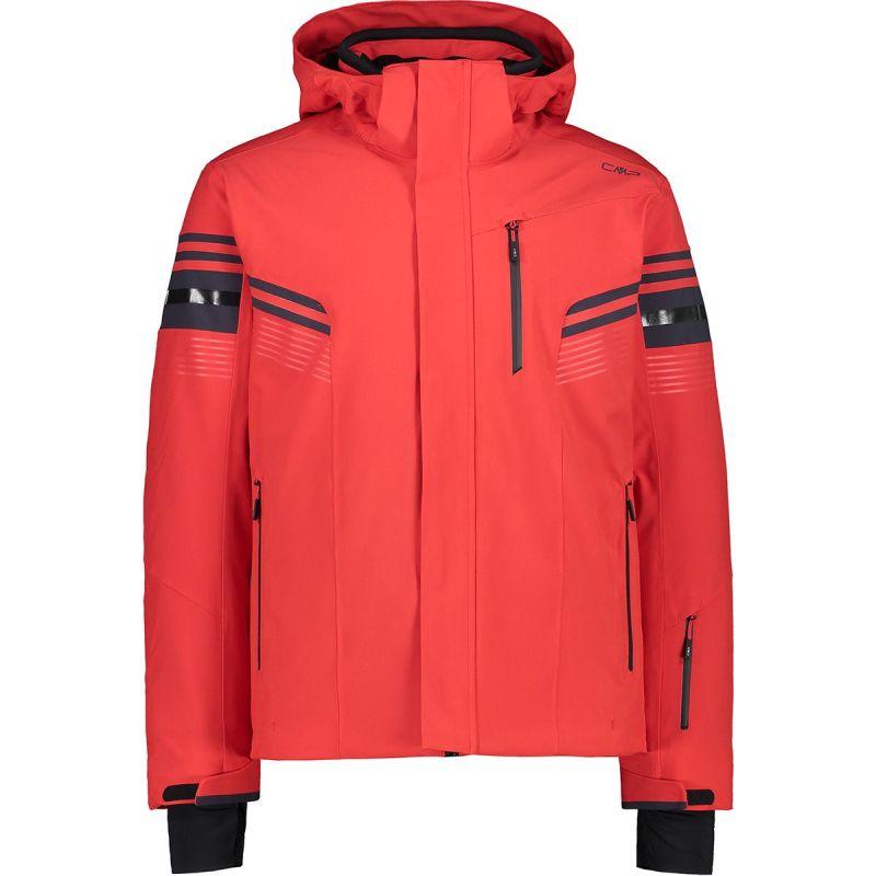 CMP Man Jacket Zip Hood Ferrari