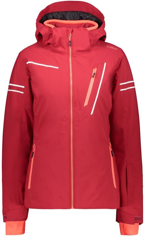 CMP Woman Jacket Zip Hood magenta