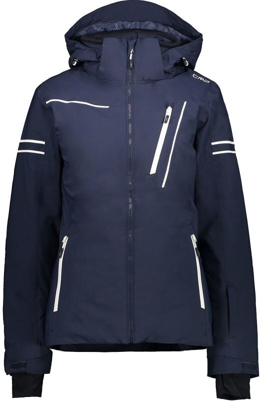 CMP Woman Jacket Zip Hood black blue