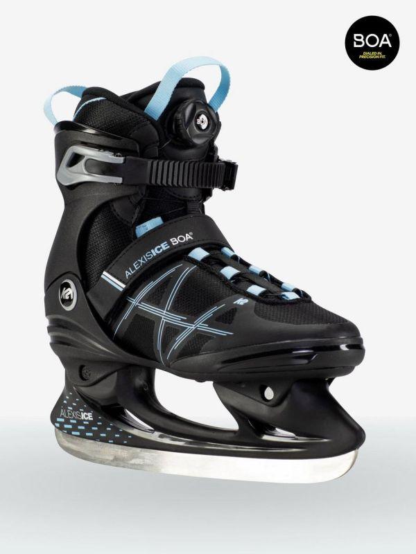 K2 Alexis Ice Boa black blue