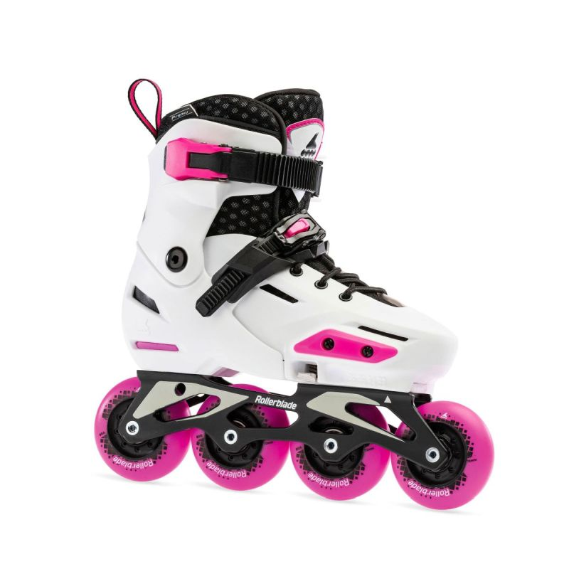 Rollerblade Apex G  weiss/rosa