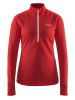 Craft Sweep Halfzip W poppy/white