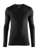 Craft Fuseknit Comfort RN LS M black