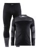 Craft Baselayer Set M black/dark grey
