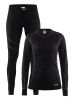 Craft Baselayer Set W black/granite