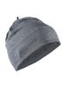 Craft Repeat Hat dk grey melange