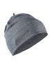 Craft Repeat Hat dk grey melange