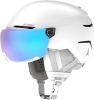Atomic Savor Visor stereo white hearth